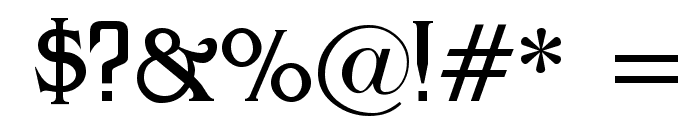 Antract Font OTHER CHARS