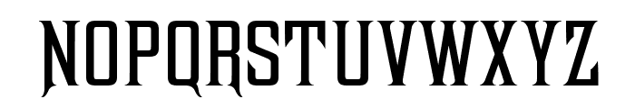 Antract Font LOWERCASE