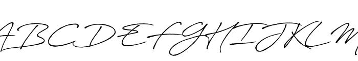 AntroVectra-Bolder Font UPPERCASE