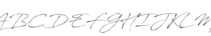 AntroVectra Font UPPERCASE