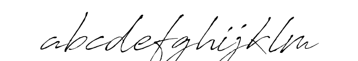 AntroVectra Font LOWERCASE