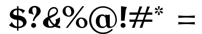 AntykwaTorunska-Bold Font OTHER CHARS