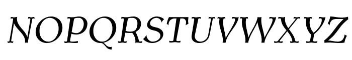 AntykwaTorunska-Italic Font UPPERCASE