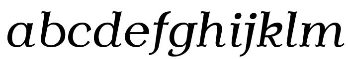 AntykwaTorunska-Italic Font LOWERCASE