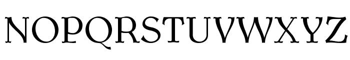 AntykwaTorunska-Regular Font UPPERCASE