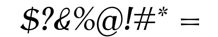 AntykwaTorunskaCond-Italic Font OTHER CHARS