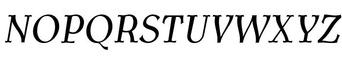AntykwaTorunskaCond-Italic Font UPPERCASE