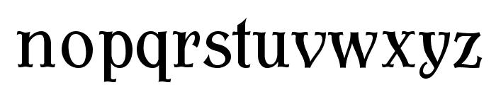 AntykwaTorunskaCond-Regular Font LOWERCASE