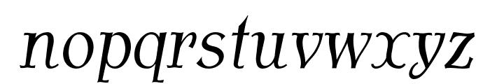 AntykwaTorunskaCondLight-Italic Font LOWERCASE