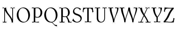 AntykwaTorunskaCondLight-Regular Font UPPERCASE