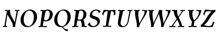 AntykwaTorunskaCondMed-Italic Font UPPERCASE