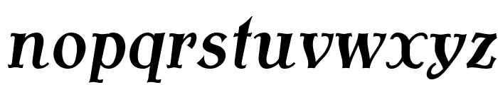 AntykwaTorunskaCondMed-Italic Font LOWERCASE