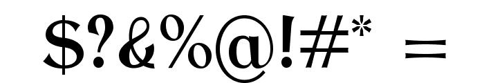 AntykwaTorunskaCondMed-Regular Font OTHER CHARS