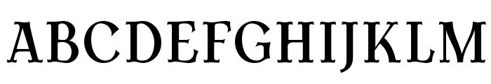 AntykwaTorunskaCondMed-Regular Font UPPERCASE