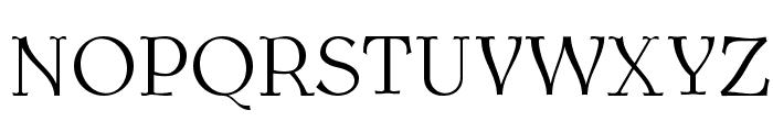 AntykwaTorunskaLight-Regular Font UPPERCASE