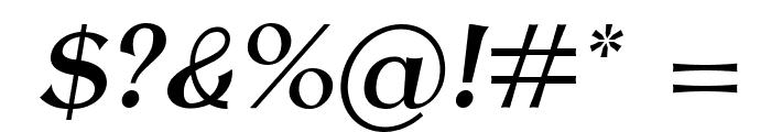 AntykwaTorunskaMed-Italic Font OTHER CHARS