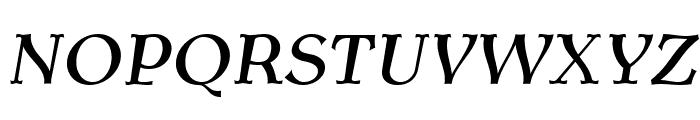 AntykwaTorunskaMed-Italic Font UPPERCASE