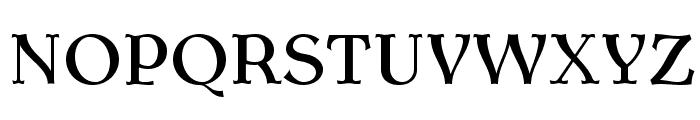 AntykwaTorunskaMed-Regular Font UPPERCASE