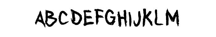AnyTakers-Regular Font LOWERCASE