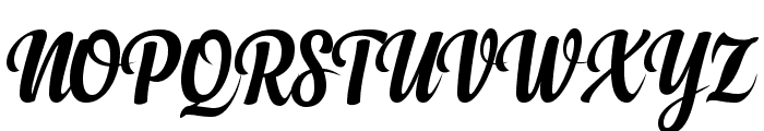 Anydore Font UPPERCASE