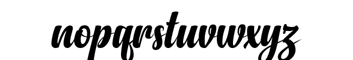 Anydore Font LOWERCASE