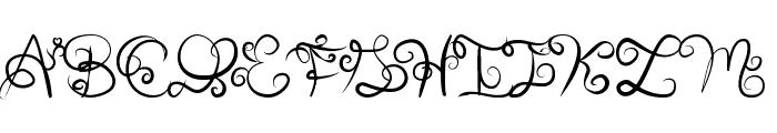 Anyk Font UPPERCASE
