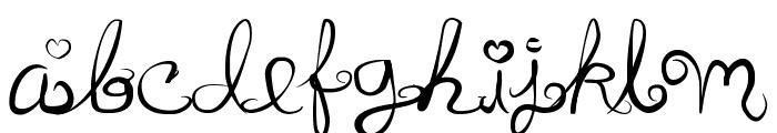 Anyk Font LOWERCASE