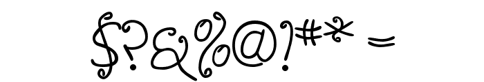 Anyway Light Font OTHER CHARS
