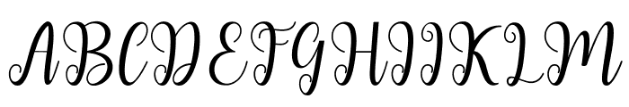 andiney Font UPPERCASE