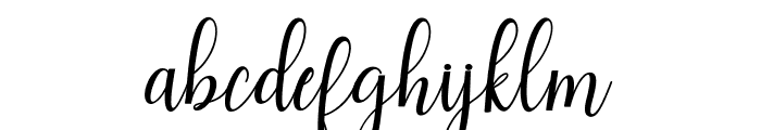 andiney Font LOWERCASE