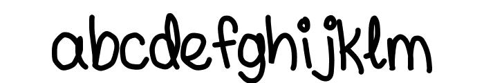 andyallshort Font LOWERCASE