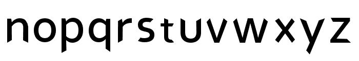 angie Regular Font LOWERCASE