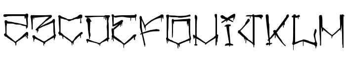 angrydubs 2 Font UPPERCASE