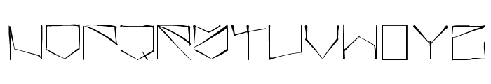 angrydubs Font UPPERCASE