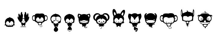 animal_kai Font LOWERCASE