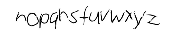 annie Max Medium Font LOWERCASE