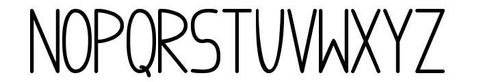 anome ibul bold Font LOWERCASE