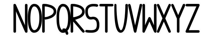 anome ibul bolder Font LOWERCASE