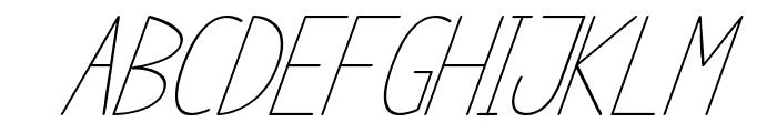 anome ibul cursive Font UPPERCASE