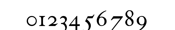 antique roman Font OTHER CHARS