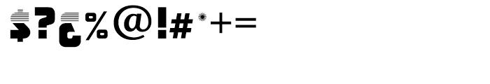 Anatol Regular Font OTHER CHARS