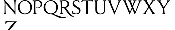 Anavio Regular Font UPPERCASE