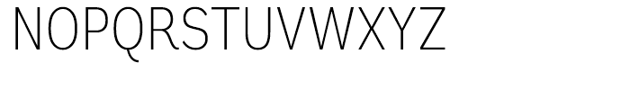 Andes Condensed ExtraLight Font UPPERCASE