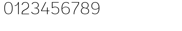 Andes Rounded ExtraLight Font OTHER CHARS