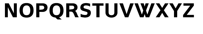 Andrew Samuels Bold Font UPPERCASE