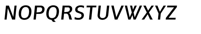 Andrew Samuels Italic Font UPPERCASE
