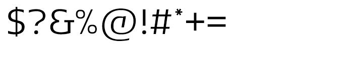 Andrew Samuels Light Font OTHER CHARS