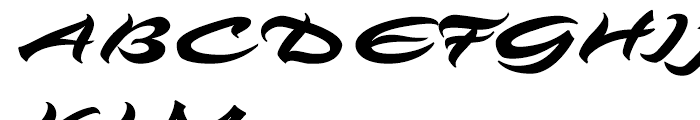 Angel Eyes Regular Font UPPERCASE
