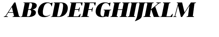 Anglecia Pro Display Black Italic Font UPPERCASE