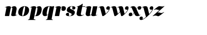 Anglecia Pro Display Black Italic Font LOWERCASE